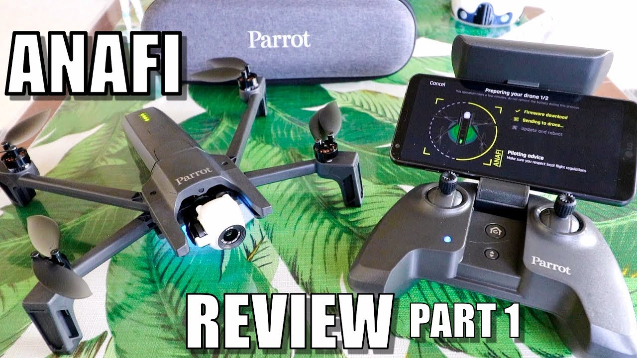 Parrot ANAFI Drone Review - Part 1 In-Depth - [Unboxing, Inspection, Setup  & Updating]