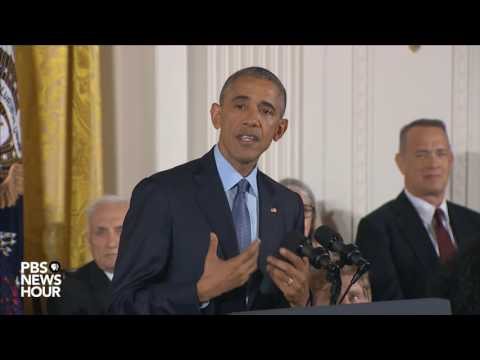 Watch President Obama's final Presidential Medal of Freedom ceremony