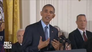 Watch President Obama s final Presidential Medal of Freedom ceremony