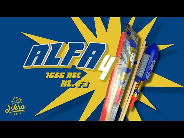 Iskra Line / ALFA 4 - IR-CB75-D / Gigantic rocket
