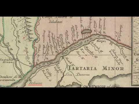 На карте 18 века нет России