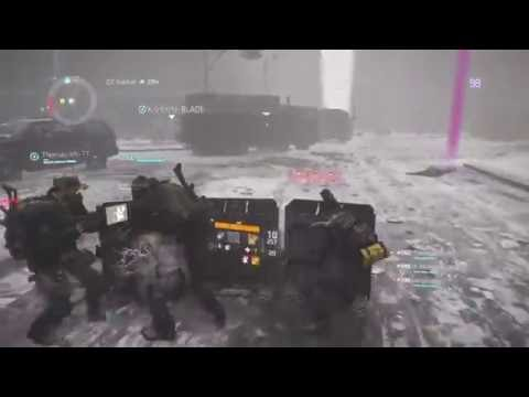 The Division (PS4) | Dark Zone Farm and Manhunt | MARINE PVP Making ALPHA BRIDGE build for me