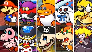 Paper Mario The Thousand Year Door - All Bosses & Ending