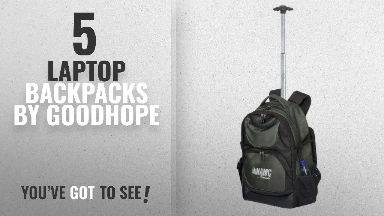 9a60540c7413 Top 10 Goodhope Laptop Backpacks [2018]: 19.5