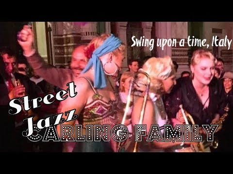 Gunhild Carling LIVE 88- Jazzin up the streets in Italy - swing upon a time - 동영상