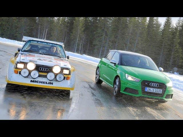 Audi S1 Fahrbericht und Vergleich mit dem Audi S1 Sport Quattro Rallye Auto