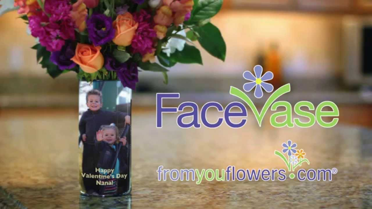 168 & FaceVase: From You Flowers\u0027 Custom Photo Vase