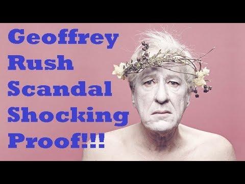 Geoffrey Rush Allegations - SHOCKING FOOTAGE