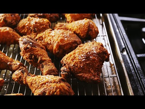 How To Make The Most Perfect Crispy Fried Chicken EVER  Delish Insanely Easy
