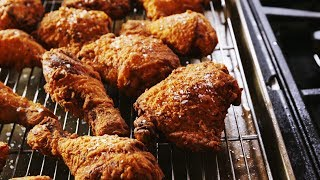 How To Make The Most Perfect, Crispy Fried Chicken EVER | Delish Insanely Easy