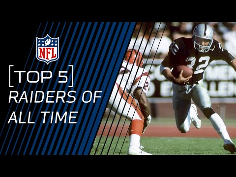 Top 5 Raiders of All Time | NFL