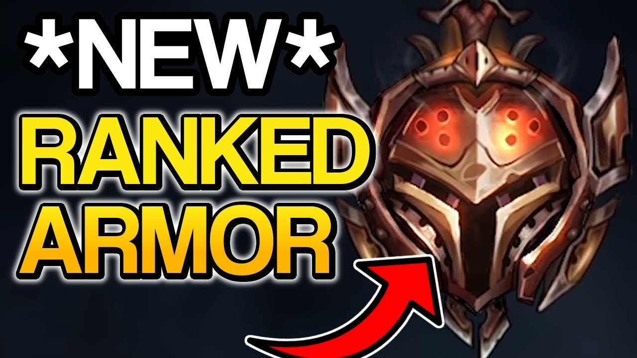 NEW RANKED ARMOR!   Season 9 Ranked Update - League of Legends