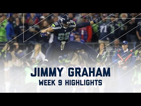 Jimmy Graham Goes Off for 2 TDs | Bills vs. Seahawks | NFL Week 9 Player Highlights