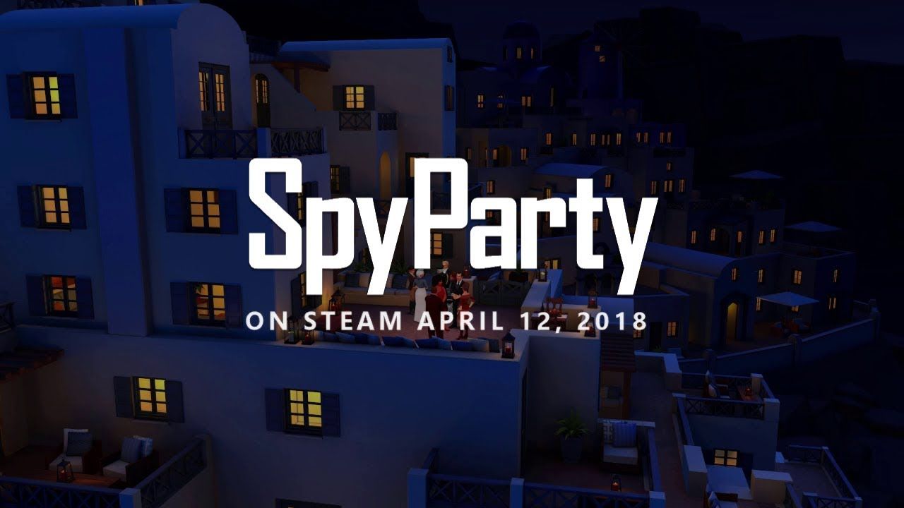 SpyParty Enters Steam Early Access on April 12