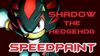 Shadow the Hedgehog: Speedpaint