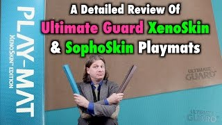 A Review of Ultimate Guard's XenoSkin and SophoSkin Playmats for Magic: The Gathering, Pokemon