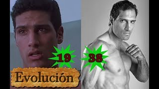 Como Marko Zaror ha cambiado  - Evolución de 19 a 38 años.
