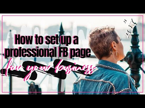 how to set up organization favebook page