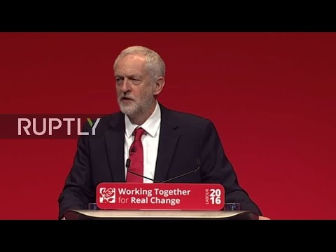 LIVE: Corbyn holds press conference on final day of Labour Party conference
