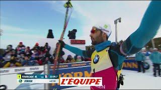 Fourcade toujours devant - Biathlon - CM (H)