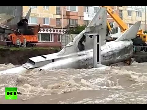 Flood surge: Torrent takes down Soviet MiGs in Russian Far East