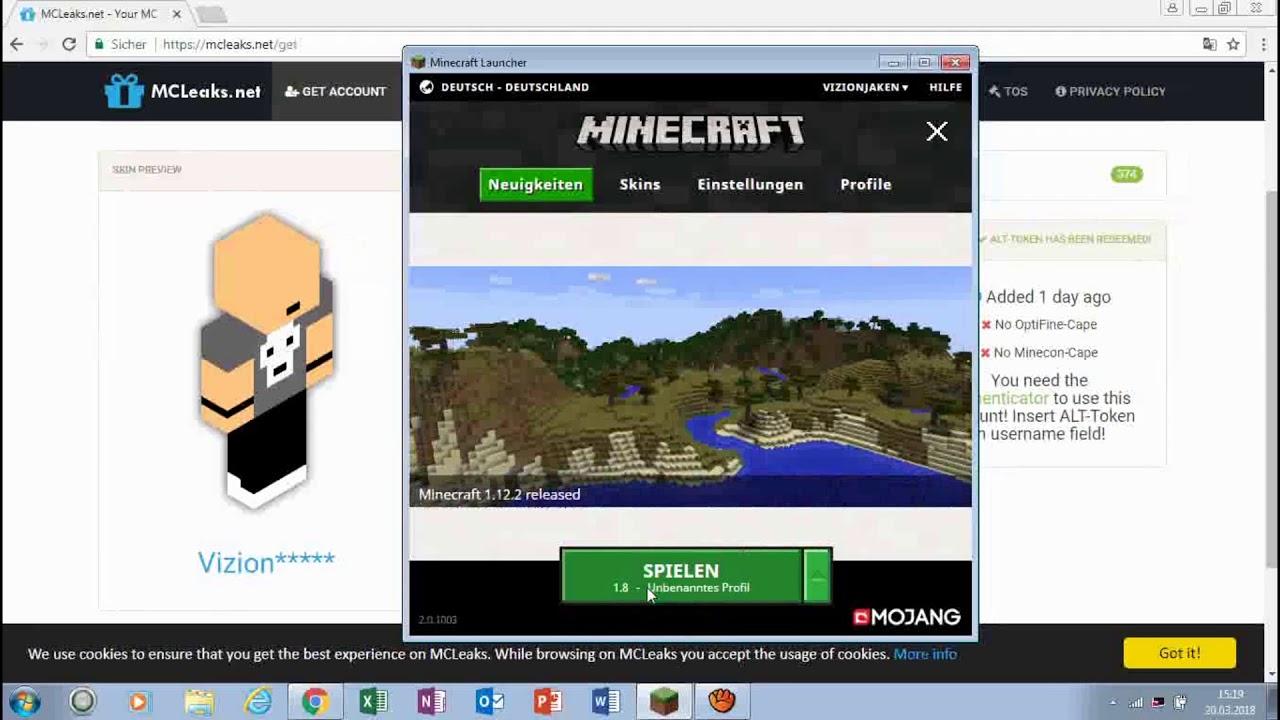 Minecraft Account Kostenlos