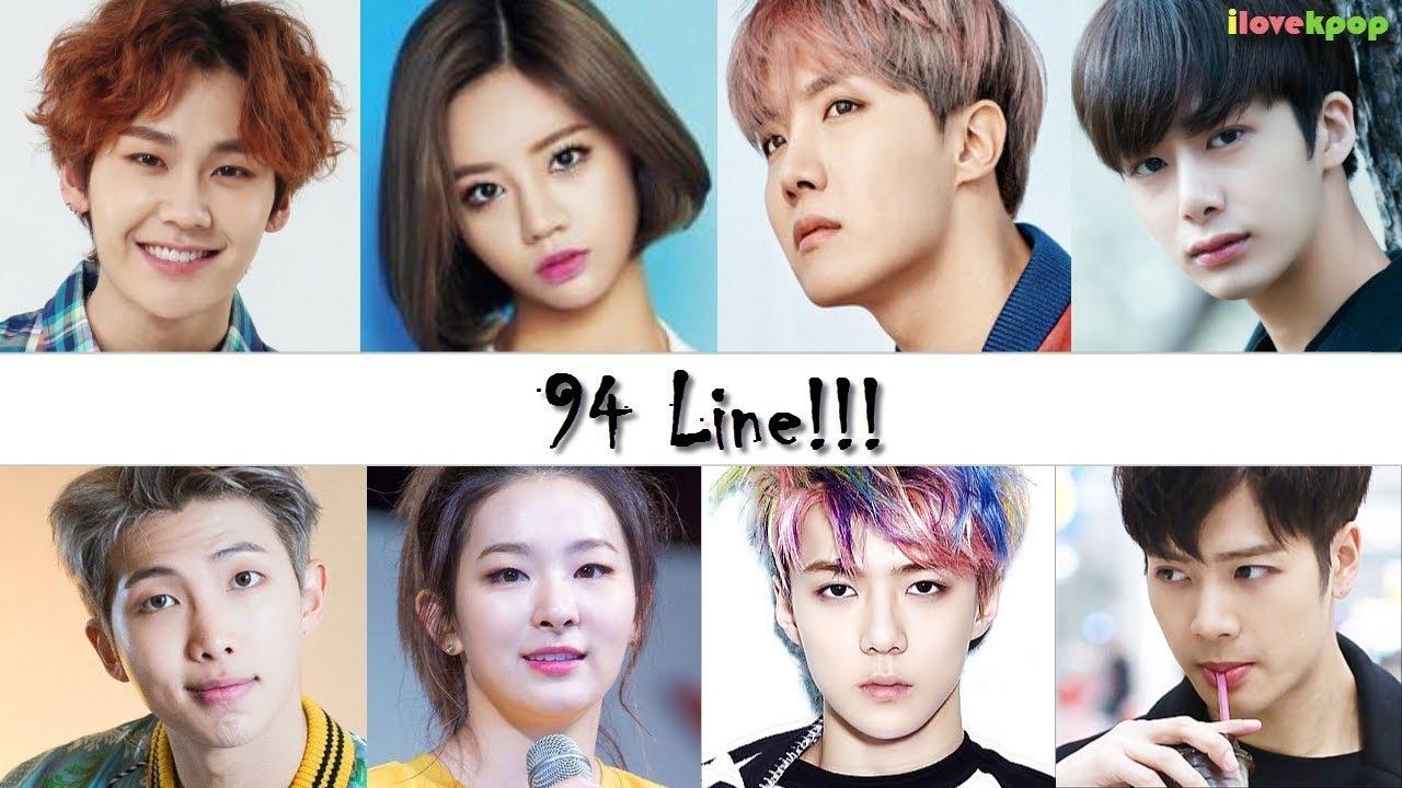 Idols Nacidos En 1994 Line 94 Line Youtube