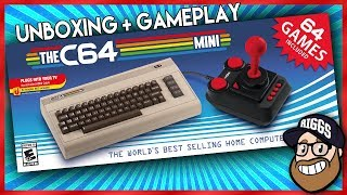 THE C64 Mini Unboxing + Gameplay - Commodore 64