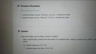 How to Software Update an Android device by Samsung Kies