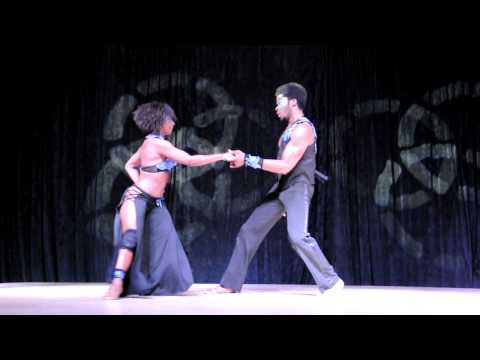 Terry and Cecile at the DC Salsa Congress, June 19, 2011