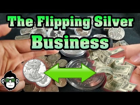 Make Money Flipping Silver Coins! | Silver Stacking Business
