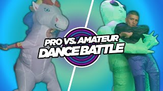 Pro Vs. Amateur Inflatable Costume Dance Contest • Part 2