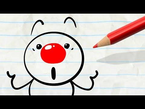 """Clowning Around"" Pencilmation"