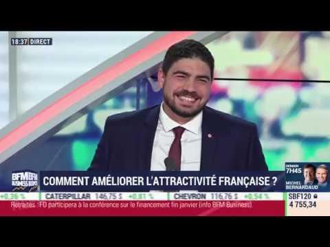 Comment améliorer l'attractivité française 16 01 BFM Business 2020