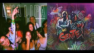 Dua Lipa vs. J Balvin, Willy William - Mi Gente (New Rules Remix)