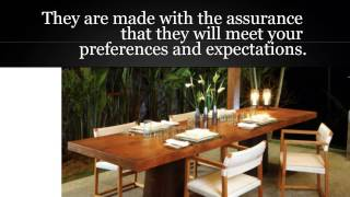 Indoor Teak Dining Tables | Teak Dining Tables | Furnitures In Australia, Europe And More...