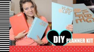 FREE DIY Vlog Planner - Vlogmas Day 6
