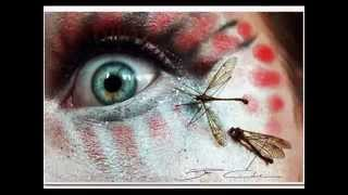 Как красить глаза по-сказочному видео(Как красить глаза по-сказочному видео Лицо женщины для художника-визажиста – поле для творчества. Женские..., 2014-11-08T07:37:57.000Z)