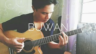 BUWAN (with TABS and Tutorial) - Juan Karlos Fingerstyle Cover