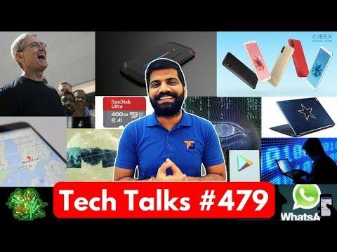 Tech Talks #479 - Redmi S2, Oneplus 6 Water Resistant, Acer Avengers Laptop, 400GB MicroSD, iPhone X