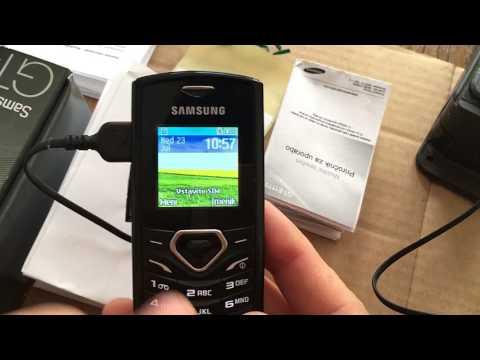 Samsung GT E1170i Curved Simplicity