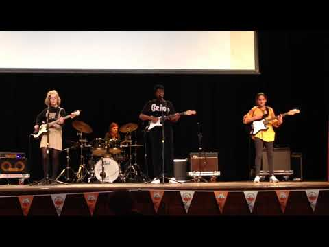 Ellen Wilkinson School band 2019