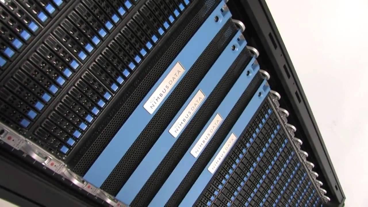 Nouveaux produits 827a3 e3f40 Video: S-Class Flash Storage from Nimbus Data Systems