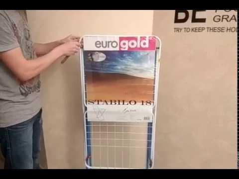 Сушка для білизни з доп. відділеннями Eurogold STRONG 18 (7640114035135S/0503SE)