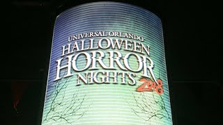 Halloween HORROR NIGHTS 2018 at Universal Studios Orlando