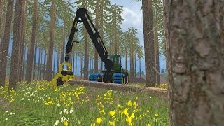 "[""Farming simulator 2015"", ""forestry"", ""john deere"", ""1270e"", ""Harvester"", ""Forwarder"", ""thinning"", ""durchforstung"", ""waldarbeit"", ""gaming"", ""spiel"", ""simulator"", ""forstmaschinen"", ""logging""]"