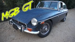 1971 MGB GT Car Review | Our Slowest Car Yet!!!