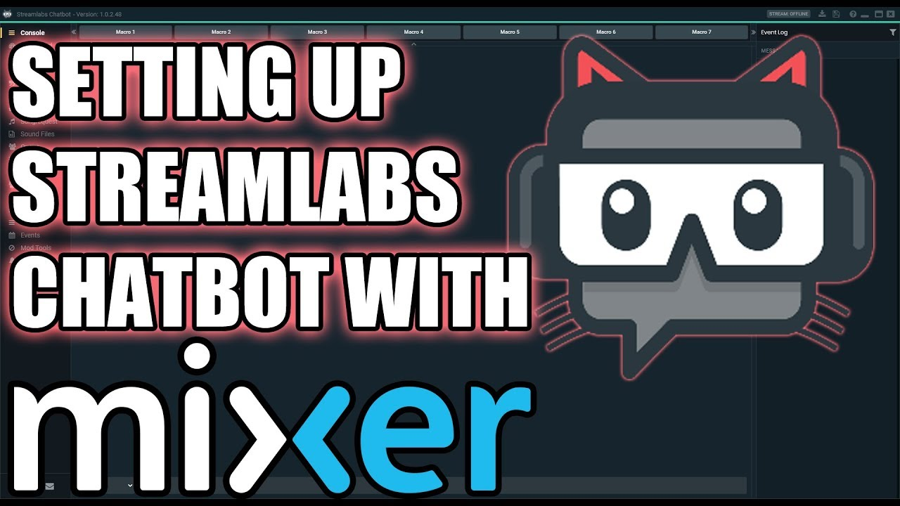 Authenticating Streamlabs Chatbot With Mixer | (Mixer Tutorial Episode 14)