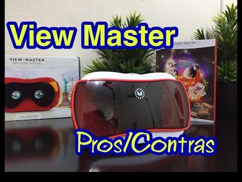 ViewMaster Realidad Virtual en Español  / Pros y Contras