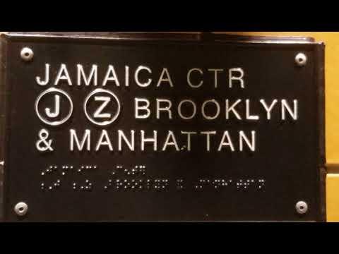 Budd R32 & Alstom R160 (J)(Z) SubWay Train Jamaica Ctr, Brooklyn & Manhattan